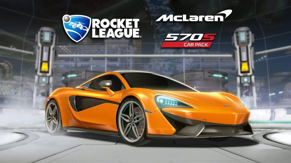 Rocket League anuncia colaboración con Mclaren: llega el Mclaren 570S