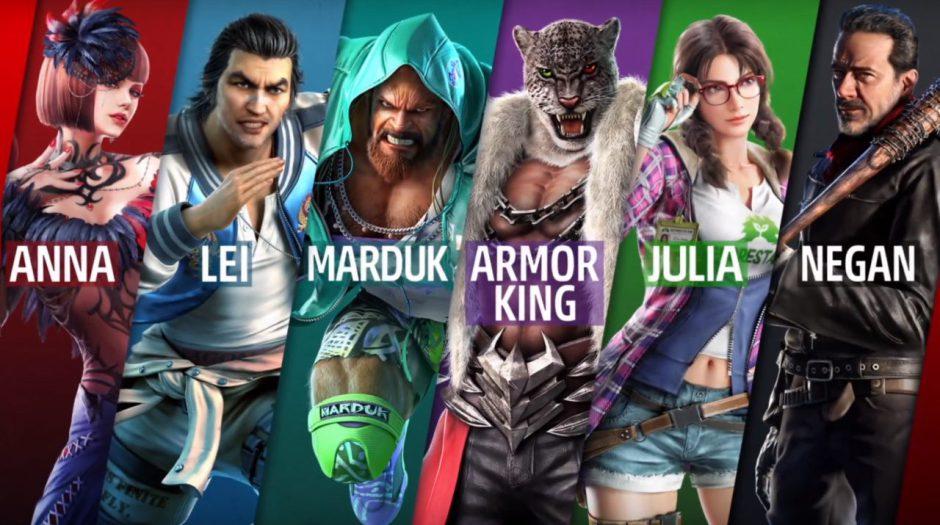Armor King y Craig Marduk se unen hoy al plantel de Tekken 7