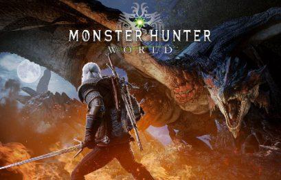 Geralt de Rivia llegará a Monster Hunter World el 8 de febrero