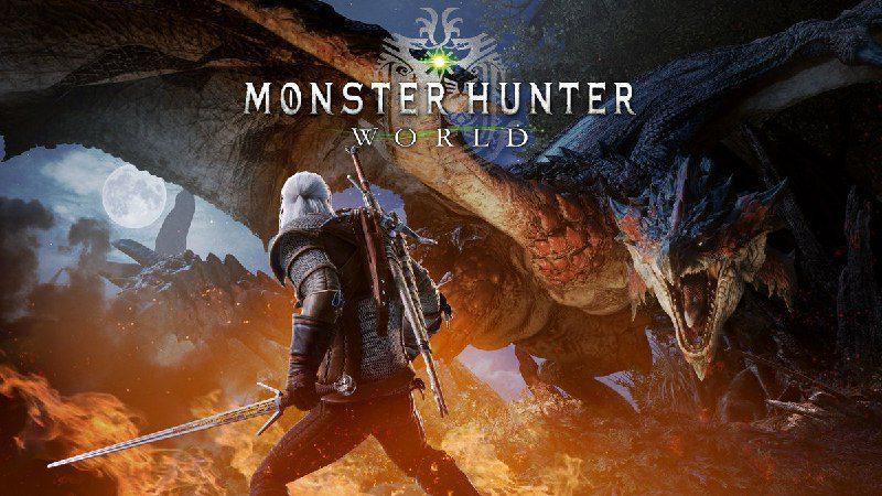 ¿The Witcher en Monster Hunter World? Pues es una realidad y será un DLC gratuito