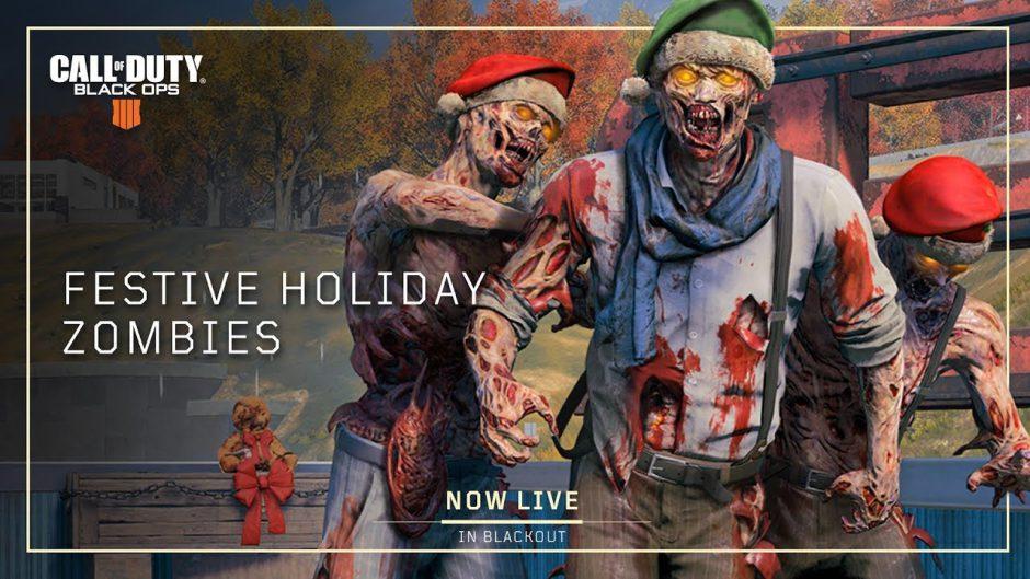 Los zombis también vuelven por Navidad a Blackout y traerán doble experiencia