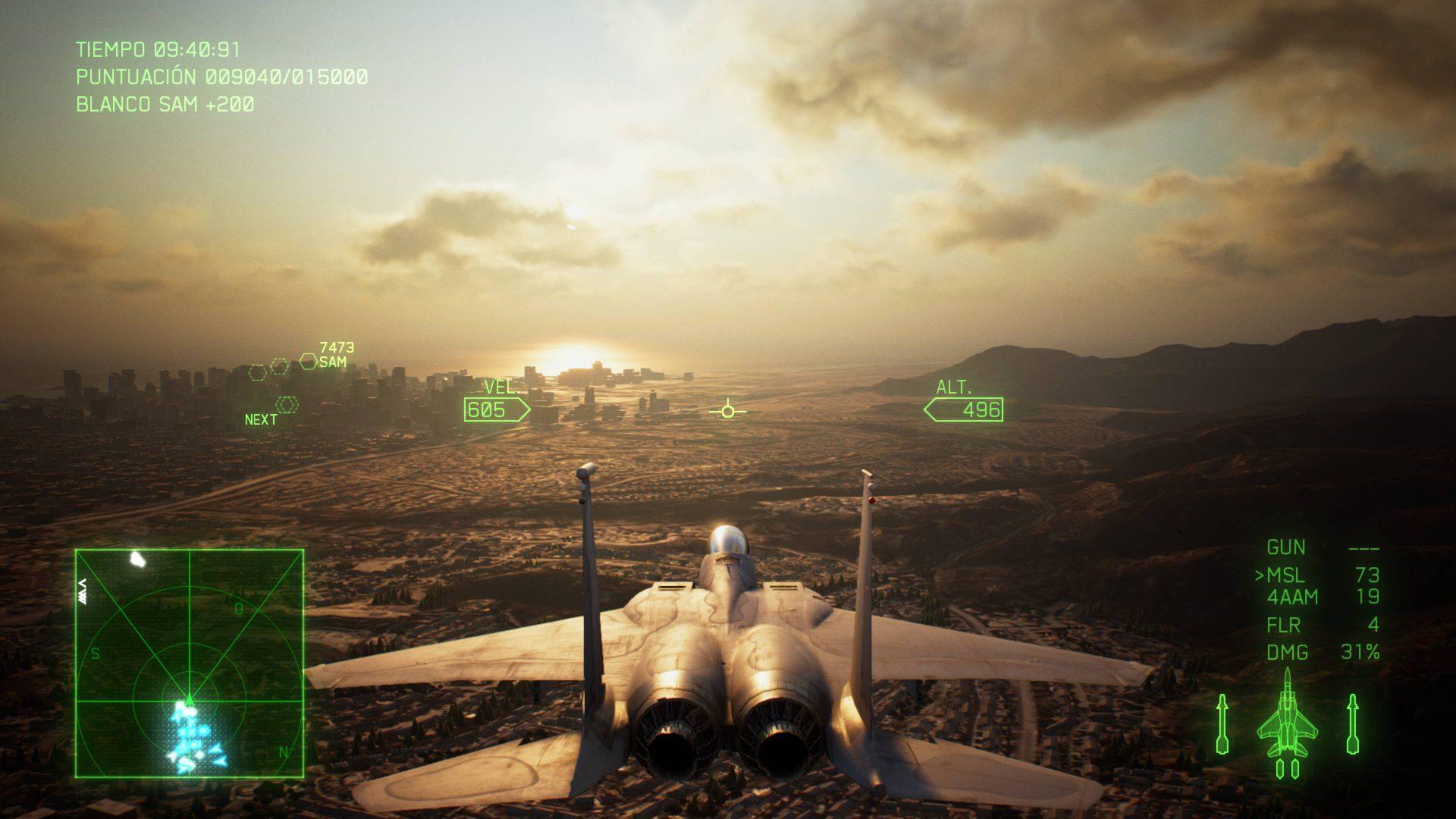 Análisis Ace Combat 7