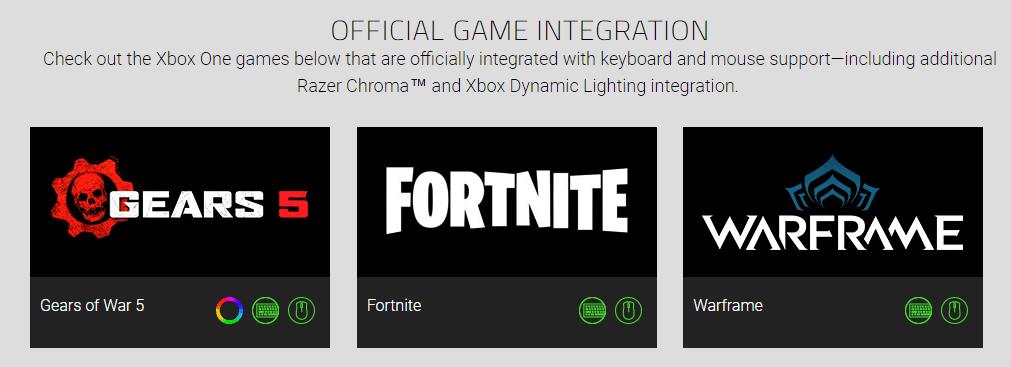 ¿Error o filtración? Razer elimina a Gears Tactics de su listado de juegos compatibles con teclado y ratón - La web de Razer en la que ayer aparecían listados los juegos compatibles con teclado y ratón para Xbox One, actualiza eliminando a Gears Tactics.