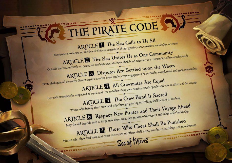 Rare nos recuerda el código pirata ante el crecimiento de Sea of Thieves