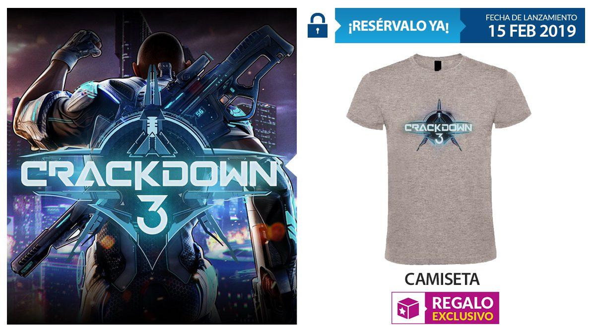 Crackdown 3 + Camiseta Exclusiva GAME