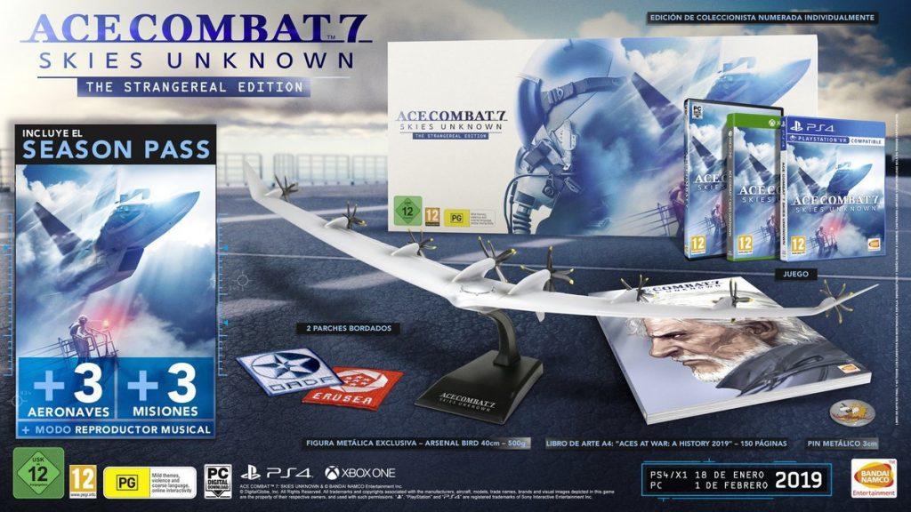 Los cazas de Ace Combat 7: Skies Unknown despegan con su trailer de lanzamiento - Ace Combat 7: Skies Unknown se pone a la venta este viernes, y Bandai Namco ha compartido el trailer de lanzamiento que recopila sus características.