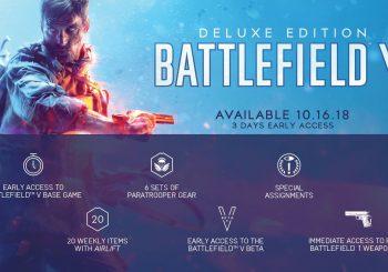 Consigue la edición digital de Battlefield V Deluxe Edition por apenas 17€