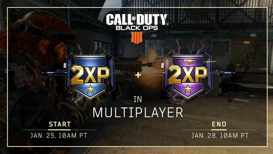 El fin de semana trae doble experiencia en Call of Duty: Black Ops 4 y la esperada playlist de Nuketown