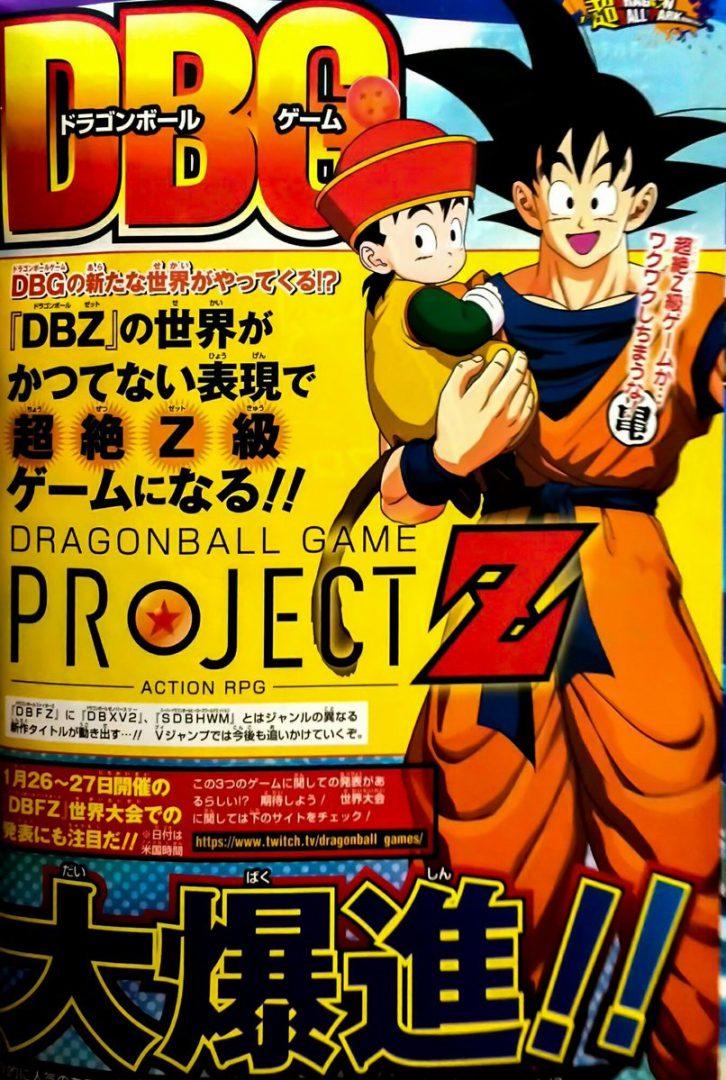 Primera imagen oficial del futuro action RPG de Dragon Ball Z - La revista V-Jump ha desvelado la primera imagen oficial de 'Dragon Ball Z Game Project Action RPG, el nuevo proyecto de Bandai Namco.