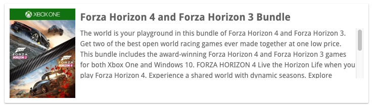 Un pack con Forza Horizon 4 y Forza Horizon 3 llega el 5 de febrero - Los scouters del portal TrueAchievements han descubierto una nueva entrada en el catálogo de la Xbox Store, que contiene un bundle de Forza Horizon.