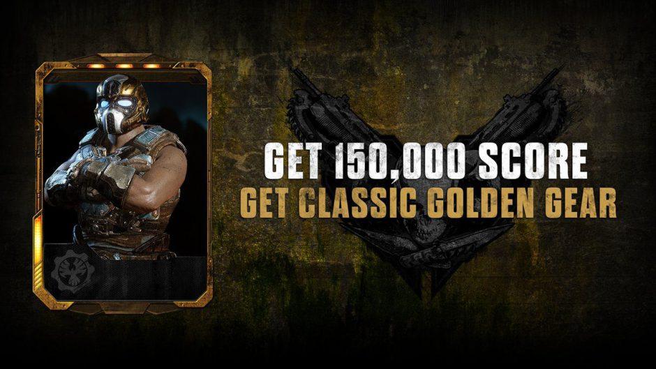 El Gear dorado está de vuelta en el multijugador de Gears of War 4
