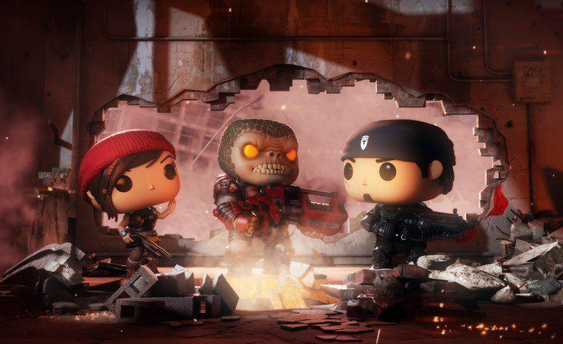 Funko presenta su nueva linea de figuras basadas en Gears of War