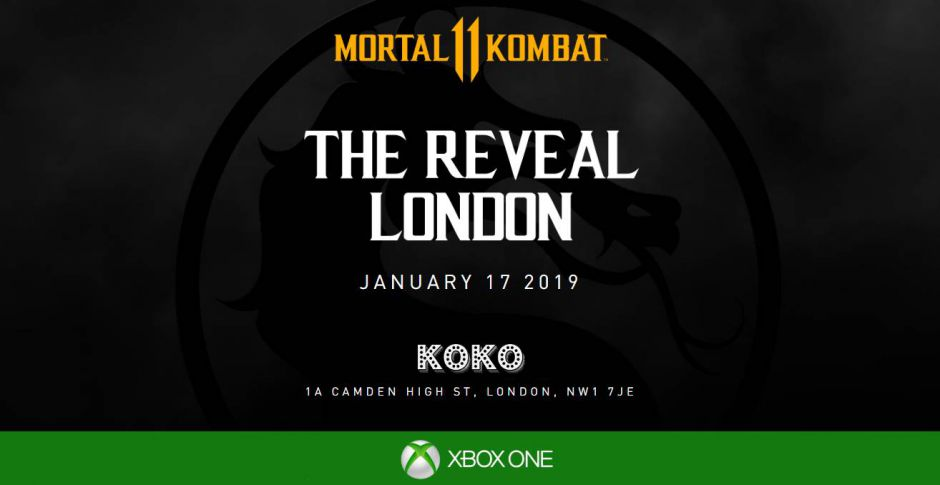 Mortal Kombat 11 tiene un acuerdo promocional con Xbox