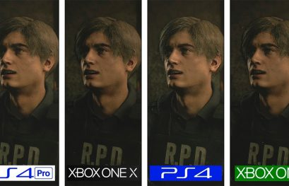 Comparativa de la demo de Resident Evil 2 Remake: Xbox One X pierde ante PS4 Pro