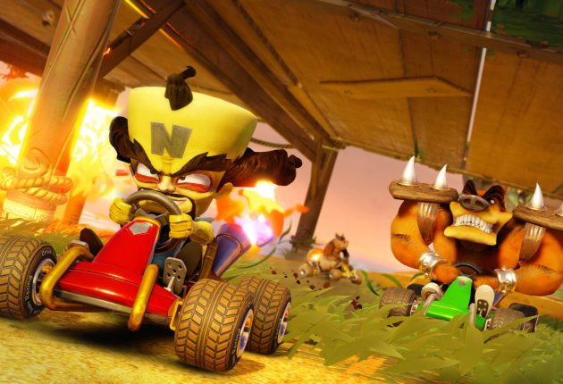 Nuevas imágenes comparativas de Crash Team Racing Nitro-Fueled 1