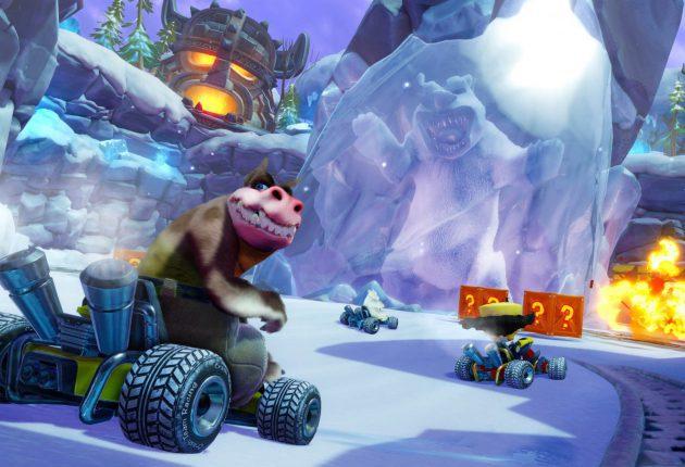 Nuevas imágenes comparativas de Crash Team Racing Nitro-Fueled 2