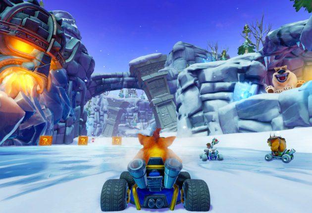 Nuevas imágenes comparativas de Crash Team Racing Nitro-Fueled 4