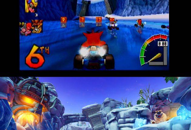 Nuevas imágenes comparativas de Crash Team Racing Nitro-Fueled 6