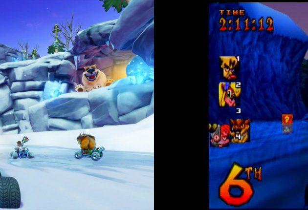 Nuevas imágenes comparativas de Crash Team Racing Nitro-Fueled 7