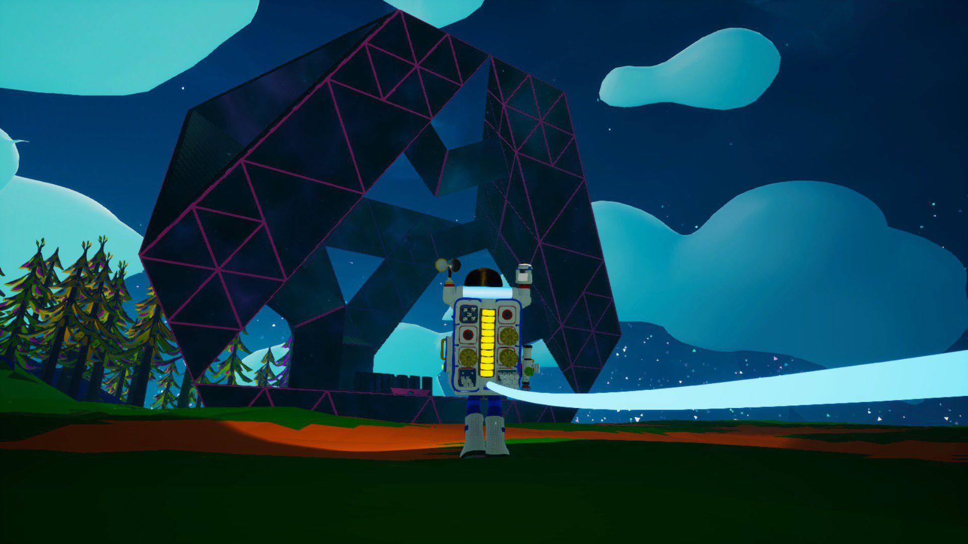 Base alienígena de Astroneer