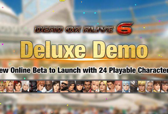 24 personajes llegan a la Demo Deluxe de Dead or Alive 6 este fin de semana