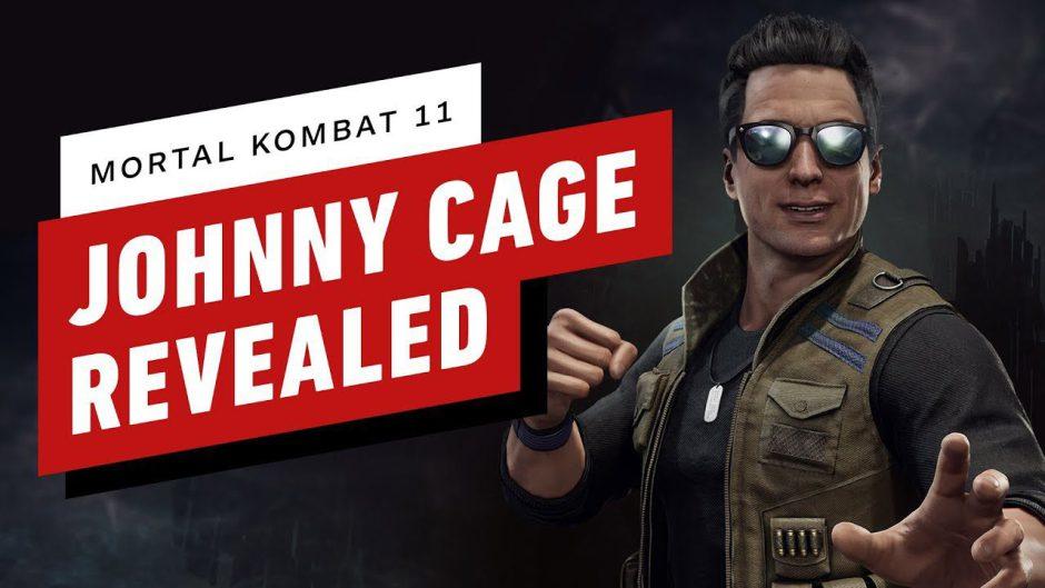 Mortal Kombat 11 presenta a Johnny Cage con un trailer espectacular