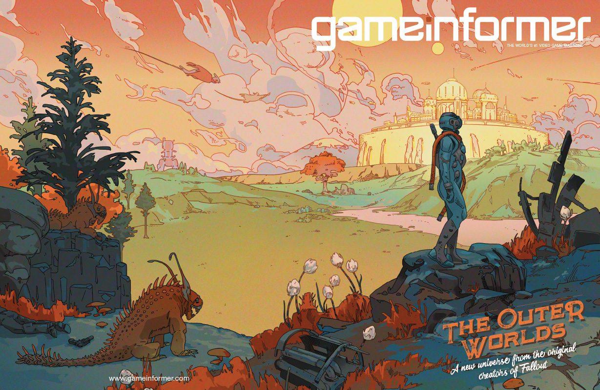 The Outer Worlds es portada de Game Informer 1