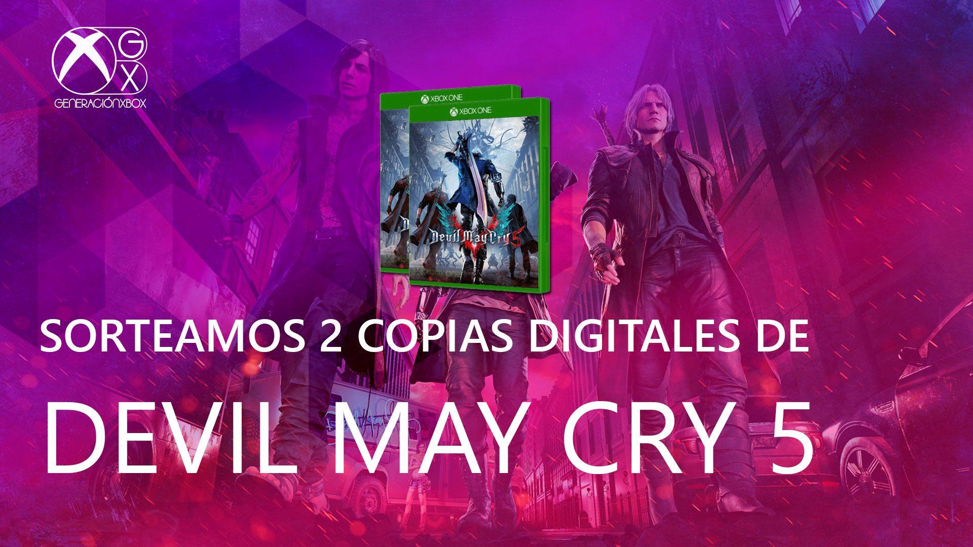 Devil May Cry 5 sorteo