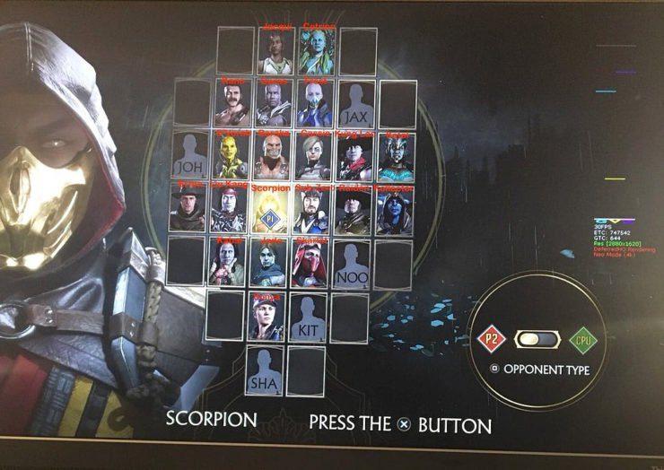 Filtrada la lista completa de luchadores de Mortal Kombat 11