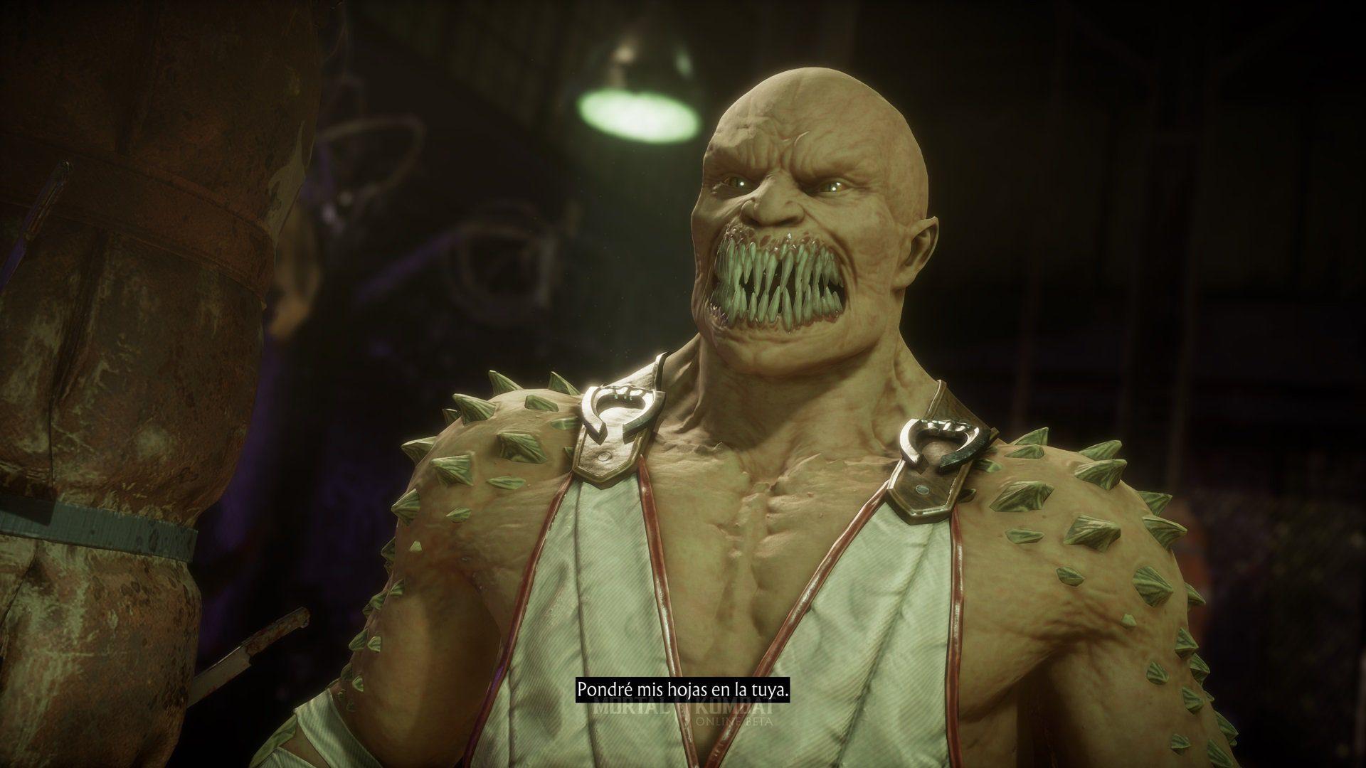Mortal Kombat 11 beta