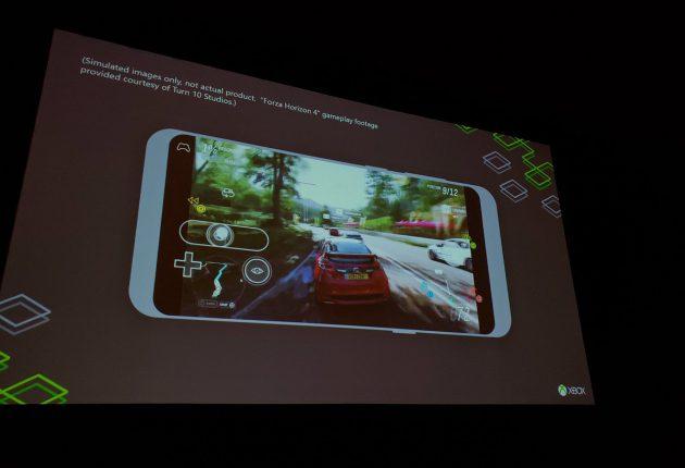 Forza Horizon 4 jugado en Project xCloud. (Cortesía de Ruseel Holly)