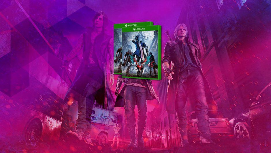 Sorteamos dos copias digitales de Devil May Cry 5 para Xbox
