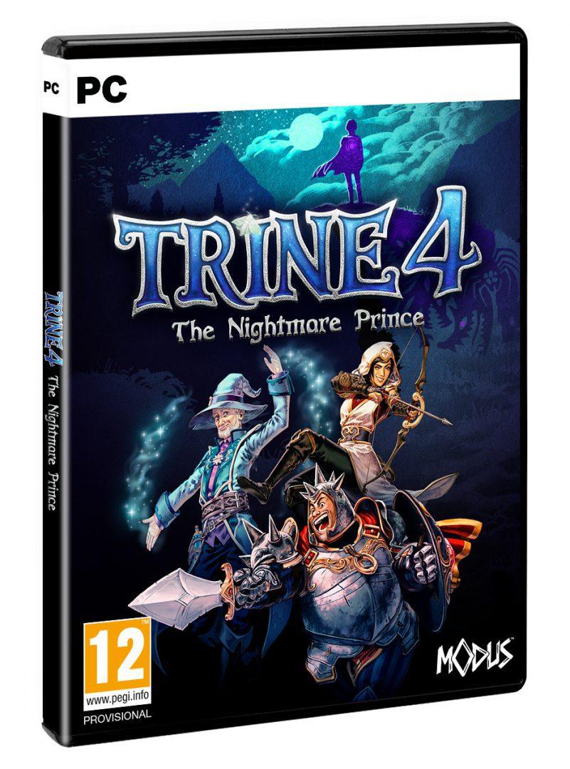 Caja de PC en la que estará Trine 4 The Nightmare Price