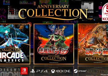Konami anuncia tres recopilatorios: Arcades, Castlevania y Contra