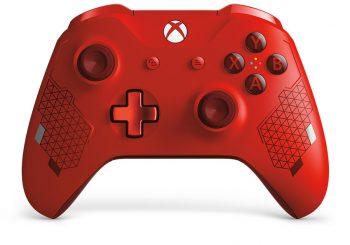 Así es el mando Sport Red Special Edition de Xbox One