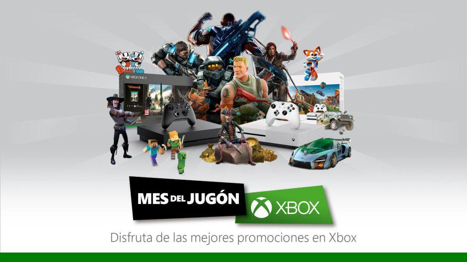 Vuelve el mes del jugón de Xbox España