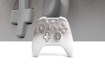 Así es el mando Phantom White de Xbox One