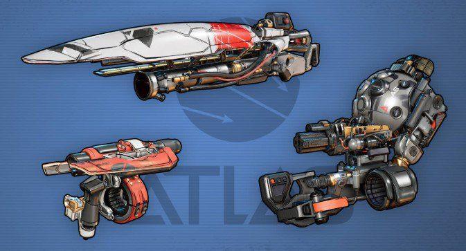 Armas Atlas Borderlands 3