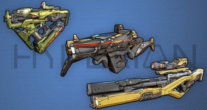 Armas Hyperian Borderlands 3