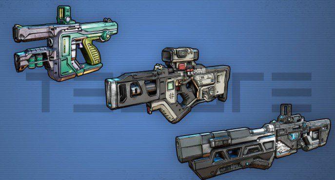 Armas Tediore Borderlands 3