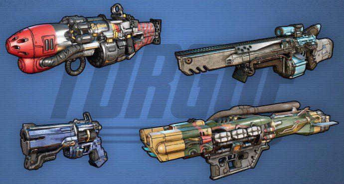 Armas Torgue Borderlands 3