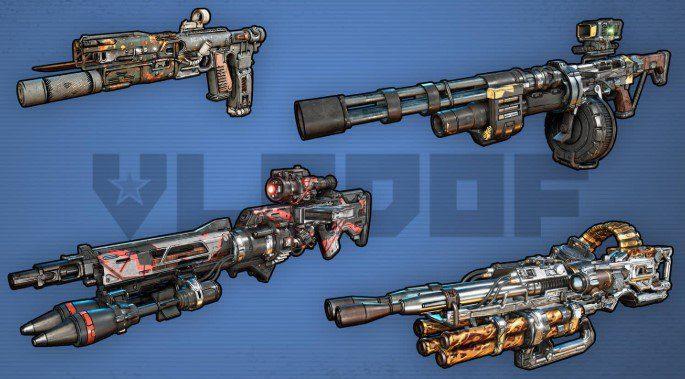 Armas Vladof Borderlands 3
