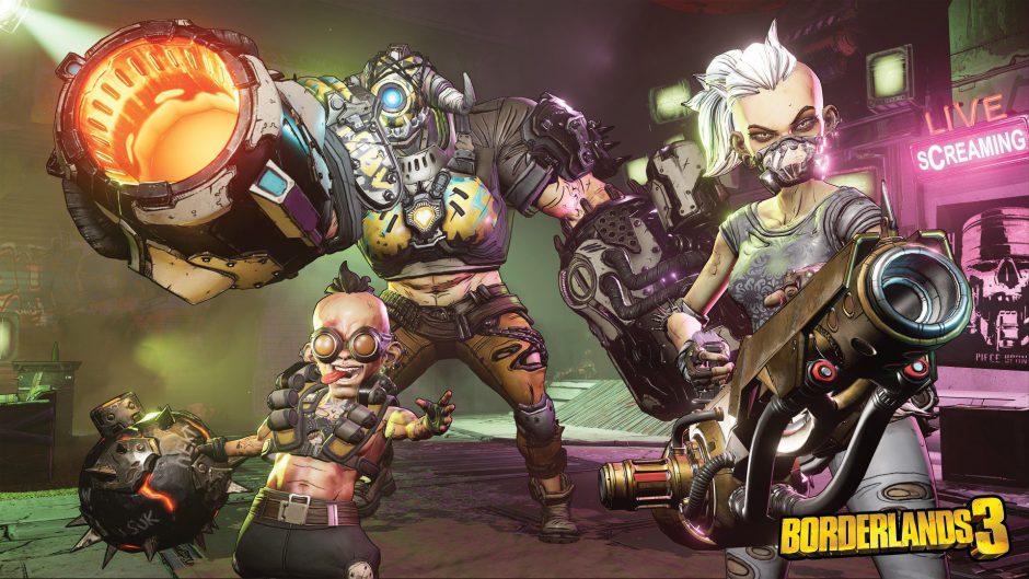 Gearbox comparte detalles sobre las armas de Borderlands 3