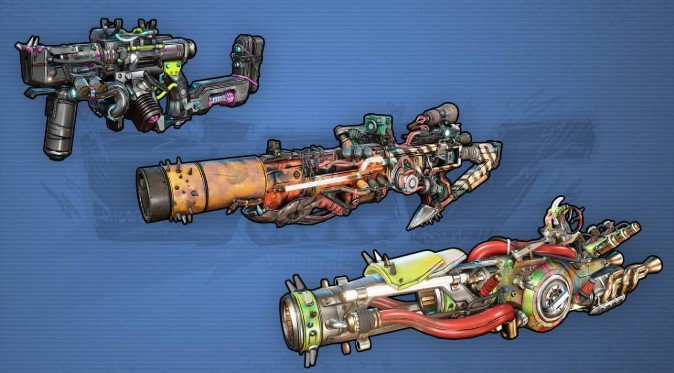 Armas Cov Borderlands 3