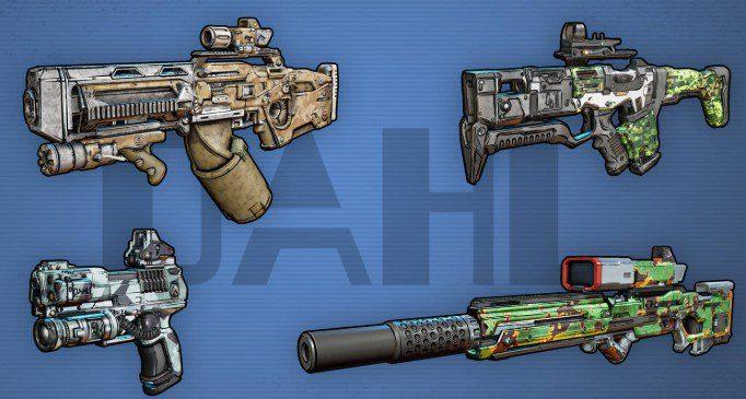 Armas Dahl Borderlands 3