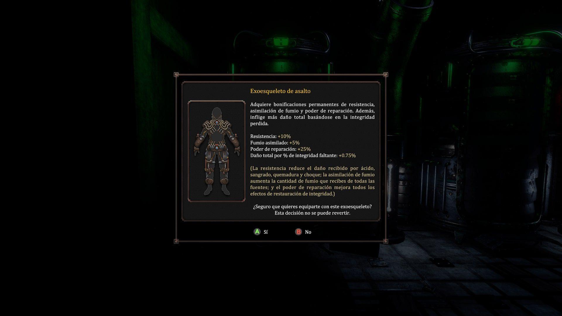 Exoesqueleto de Vaporum