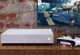 Xbox One S All Digital Edition integra oculto el soporte para unidad lectora