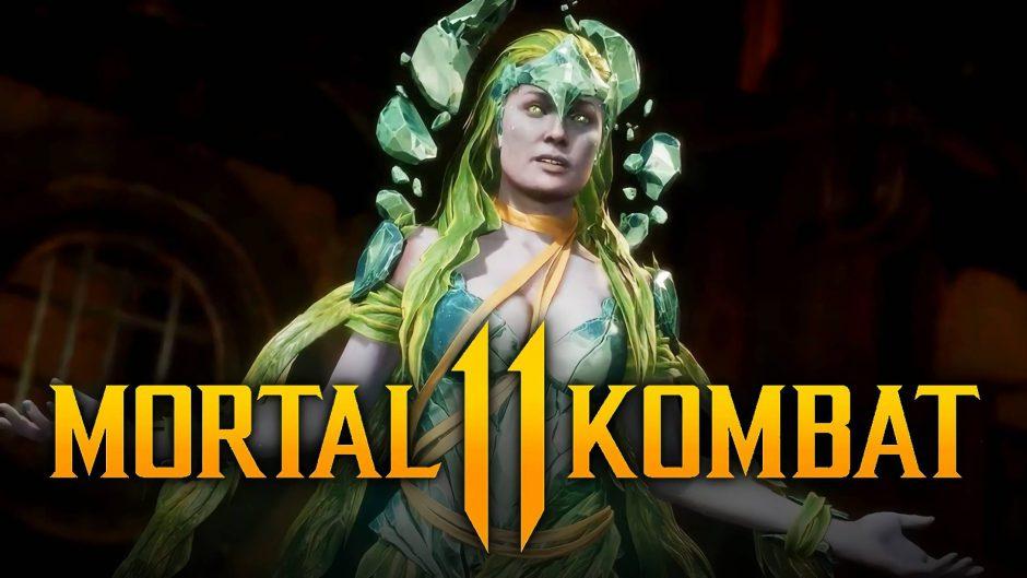Mortal Kombat 11 presenta a una nueva Kontendiente: la diosa Cetrion