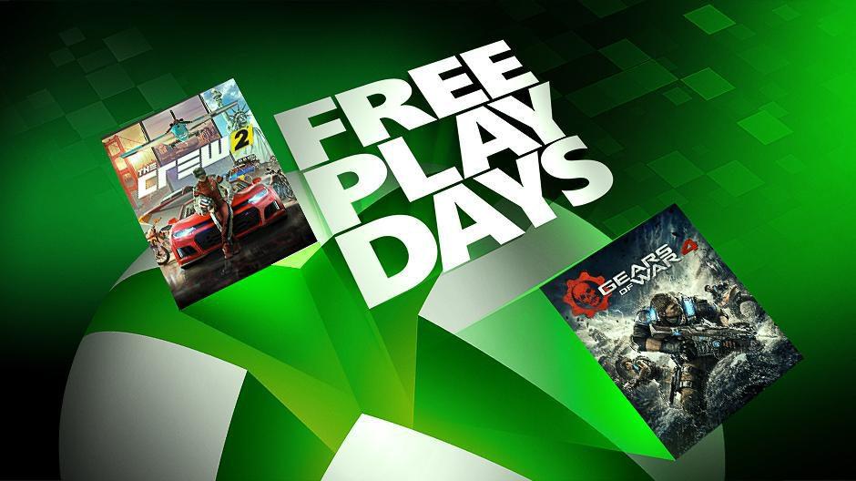 The Crew 2 y Gears of War 4 gratis este fin de semana con los Free Play Days