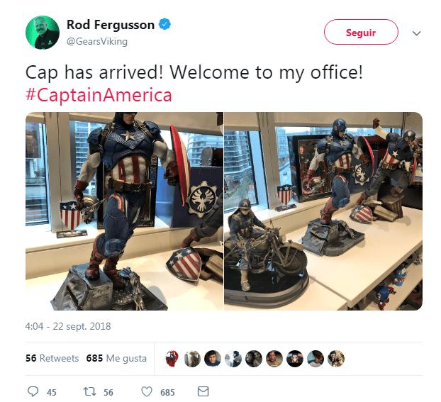 Un juego de Capitán América hecho por The Coalition, no te pierdas esta loca teoría 2